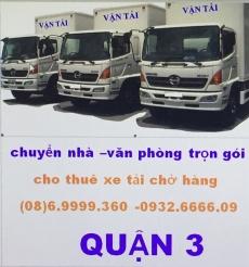 xe tải chở hàng quận 3