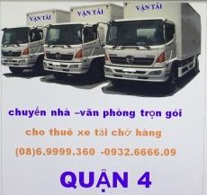 xe tải chở hàng quận 4