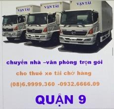 xe tải chở hàng quận 9